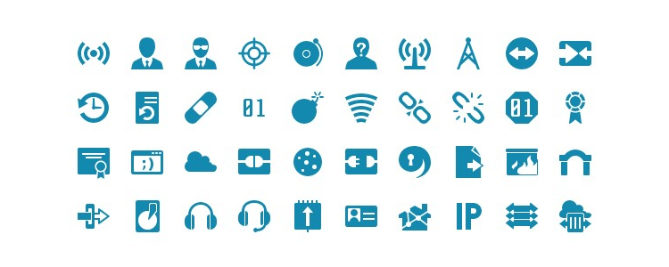 Icon Shock Icon Font with 1286 Icons