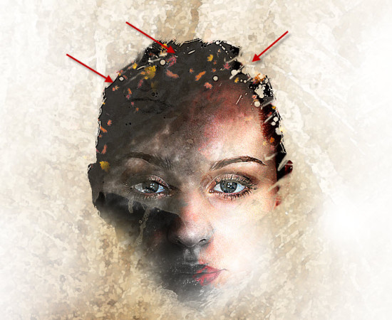 3 more 550x450 Create Leafy Face Photo Manipulation in Photoshop