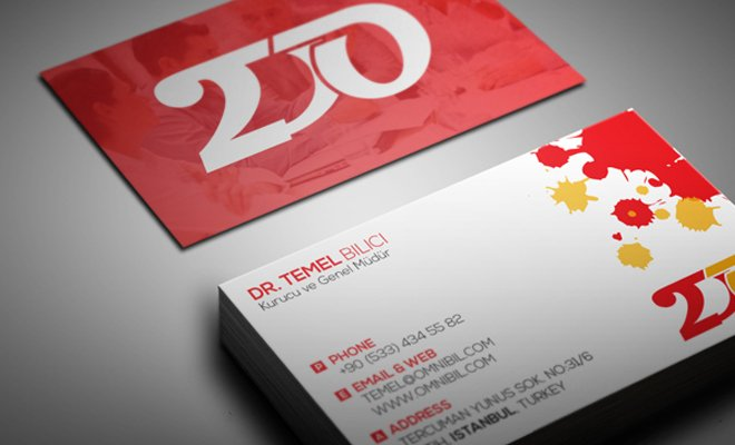 2do business card design print logo