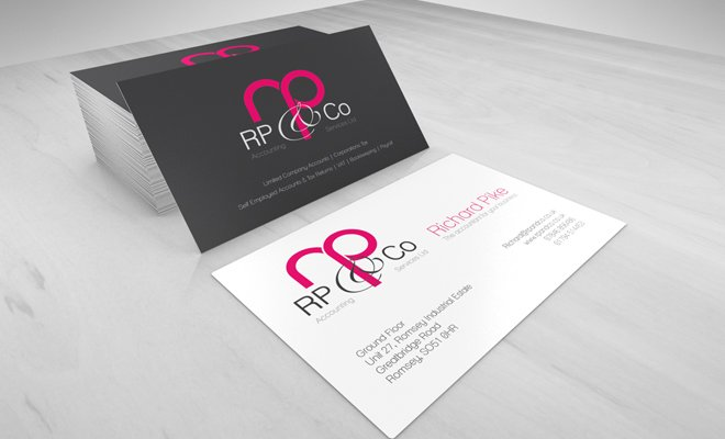rp and co company print branding work