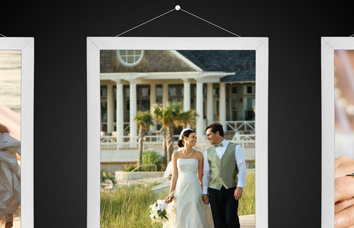 photoshop howto tutorial wedding skeuomorphic album cover