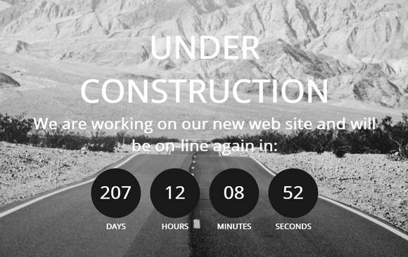 Free Coming Soon Under Construction Templates