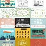 Huge Vector Graphics Bundle Full of Useful Elements