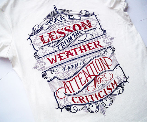 Typography Designs for Inspiration - 6