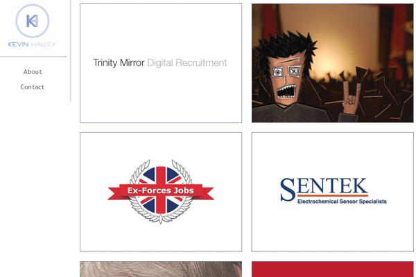 kevin halley website portfolio designer