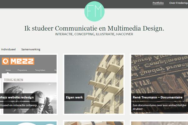 frederique matti portfolio netherlands website