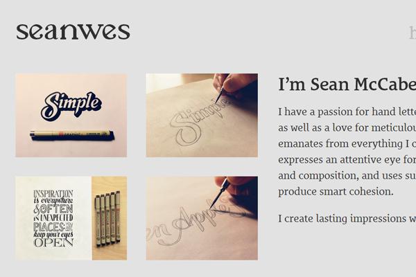 typography designer freelancer sean mccabe portfolio