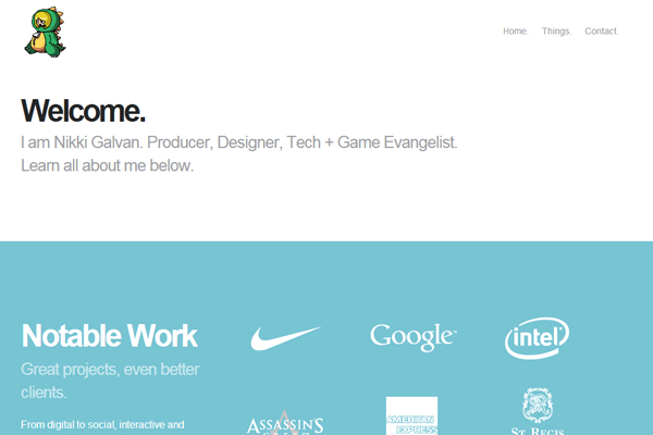 website designer portfolio nikki galvan