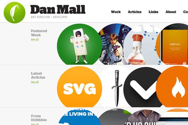 daniel mall interactive designer portfolio