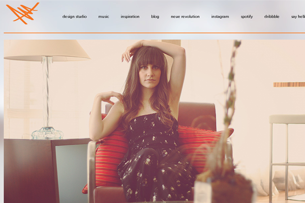 angel acevedo website portfolio design