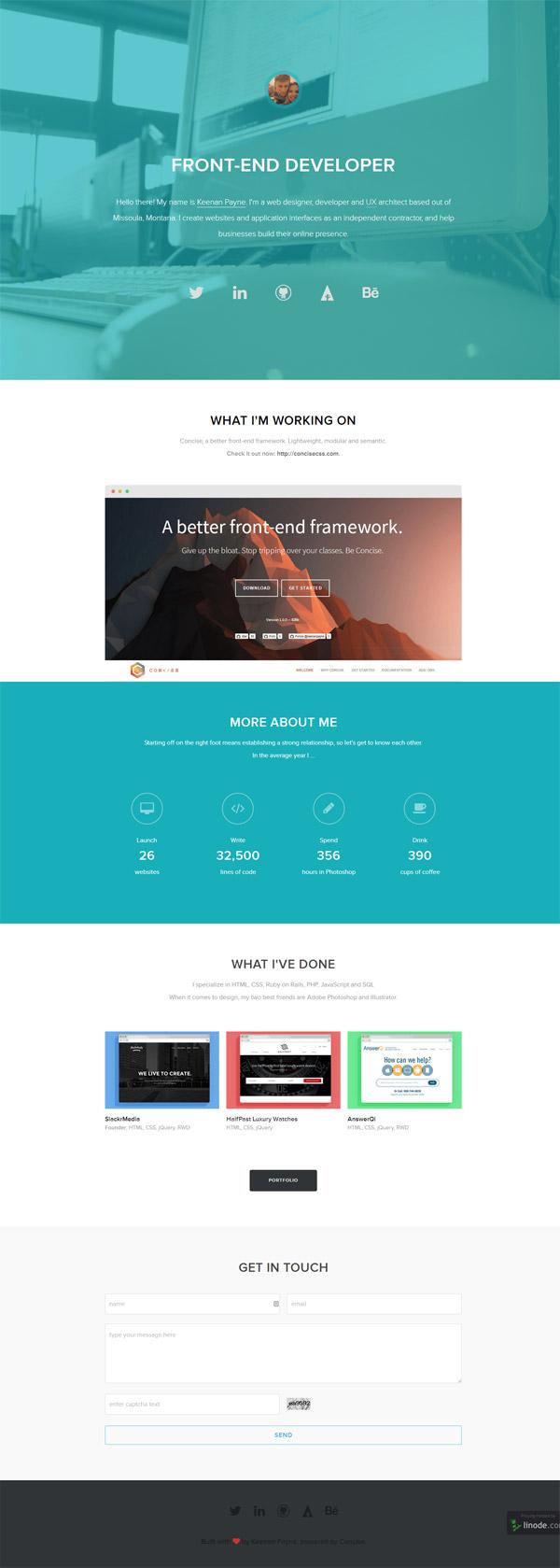 Personal Website by Keenan Payne