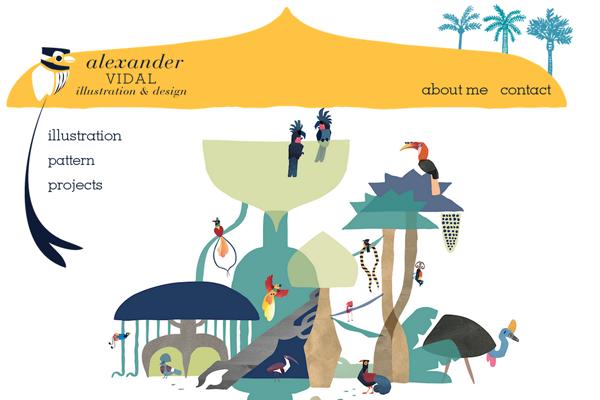 alex vidal portfolio illustrator designer