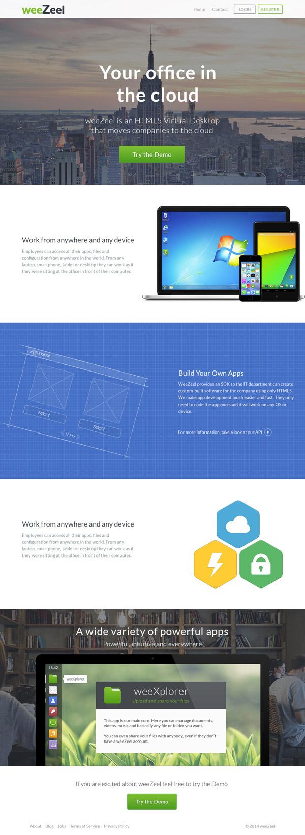 weeZeel Website by Octavian Rosca
