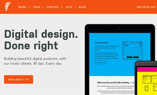 fffunction web design agency responsive portfolio