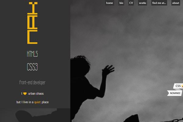 naiara abaroa portfolio website layout