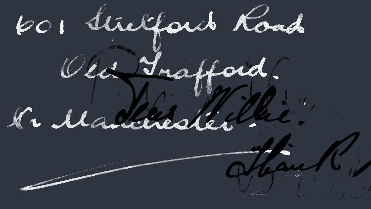 Vintage Handwriting Photoshop Brushes