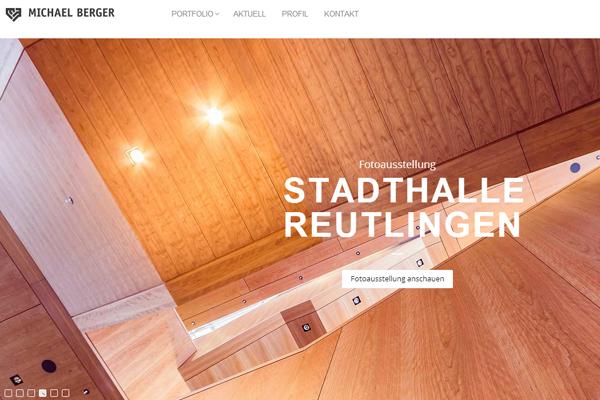 portfolio website designer michael berger