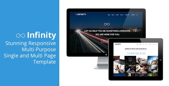 Infinity - Flexible Responsive Theme