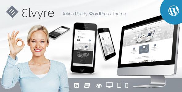 Elvyre – Retina Ready WordPress Theme