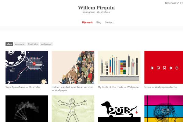 willem pirquin illustrator designer portfolio