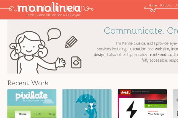 kemie guaida portfolio designer website