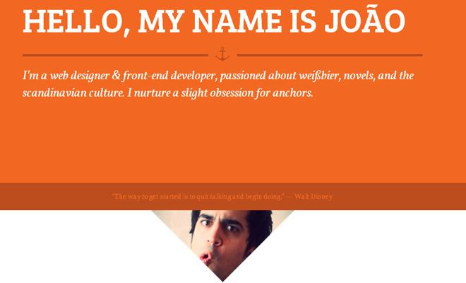 joao ramos frontend designer developer responsive portfolio