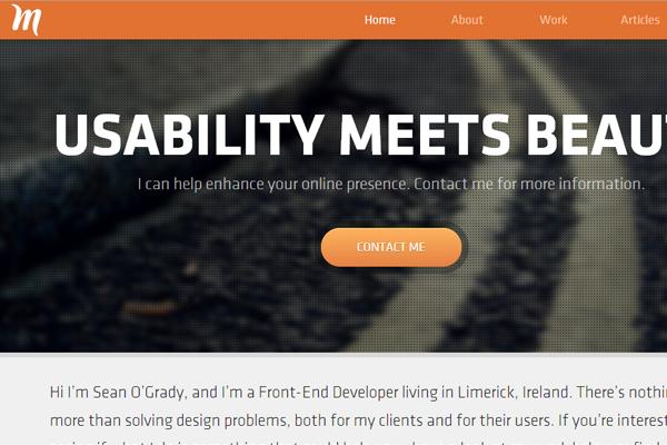 sean ogrady website portfolio miralize