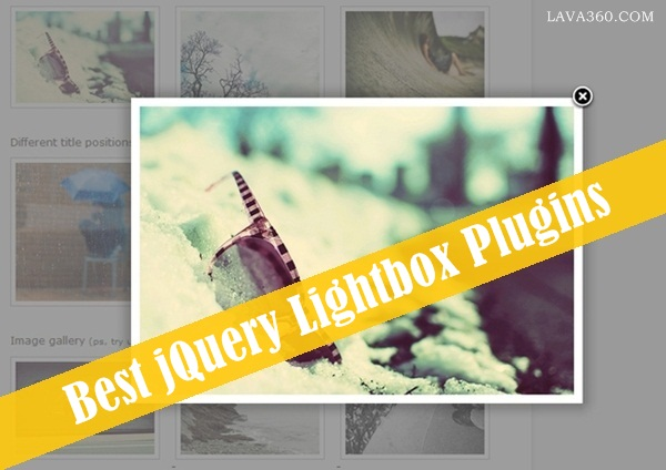18 Best jQuery Lightbox Plugins: Free and Premium