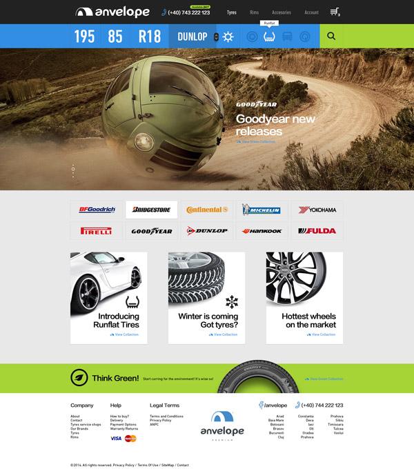Online Tyreshop by Mircea Mesesan