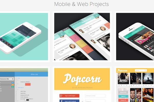 dave keller website layout portfolio