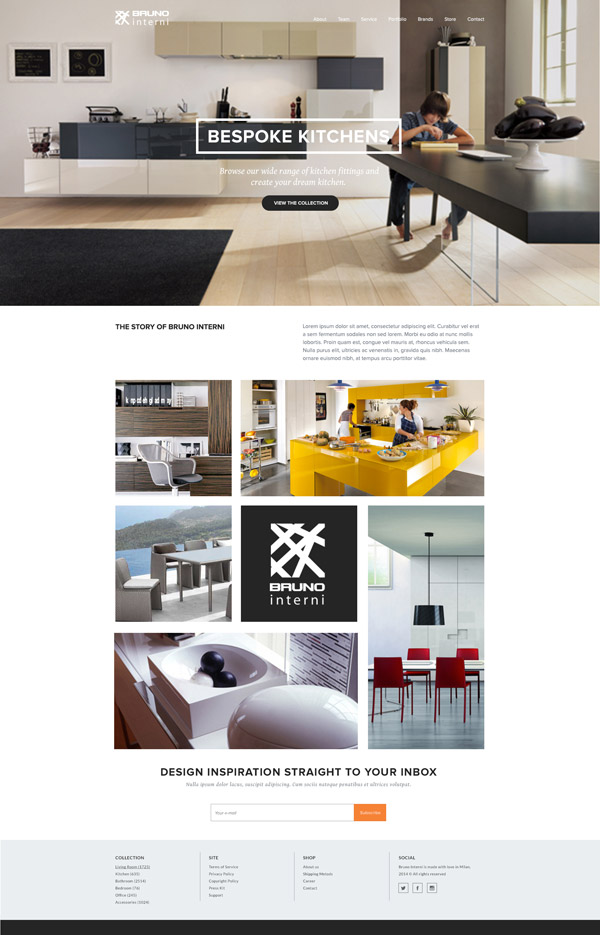 Bruno Interni Concept by Laura Williams