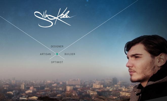 designer website portfolio sim kolev responsive