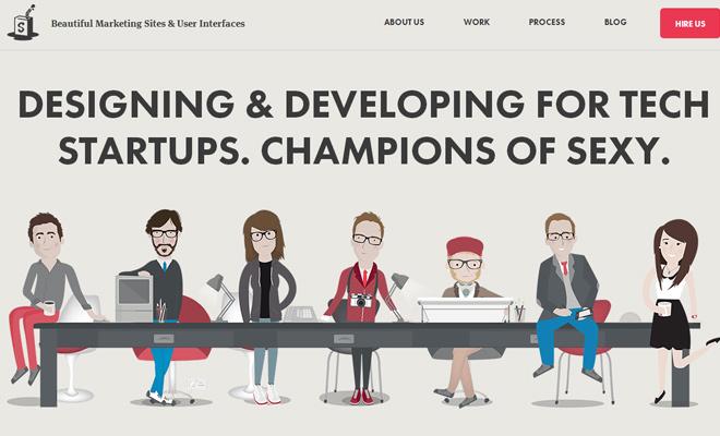 responsive portfolio website simple as milk