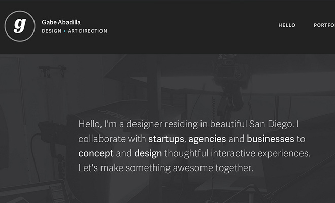Tips for Designing a Beautiful Single-Page Portfolio Website