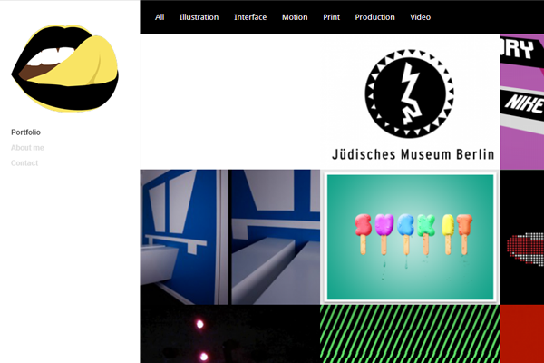 keen ethics portfolio website inspiration