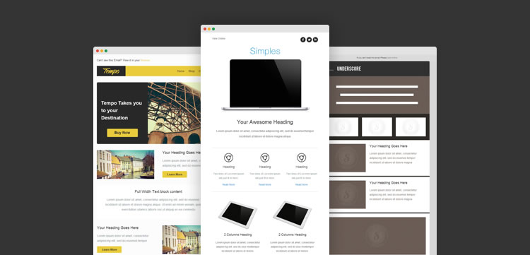 30 Free Responsive Email Templates