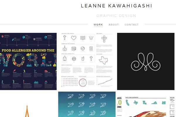 designer portfolio freelance leanne kawahigashi