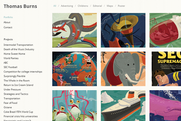 thomas burns studio designer portfolio