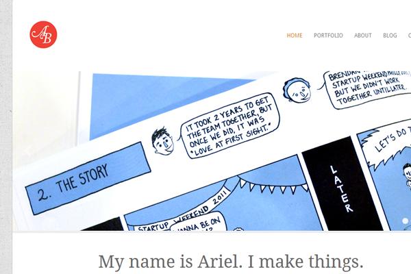 ariel braverman portfolio digital website