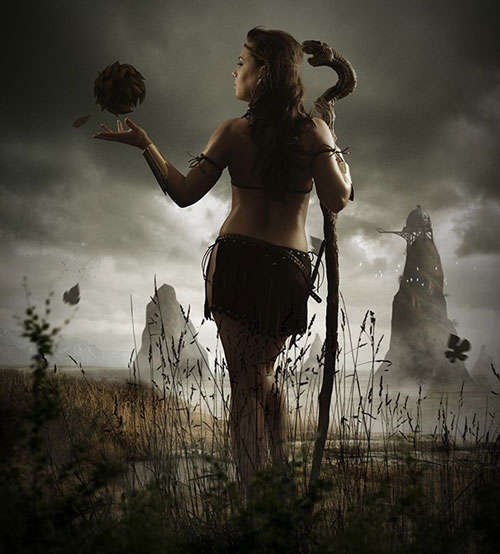 Photo Manipulate a Mystical Tribal Warrior