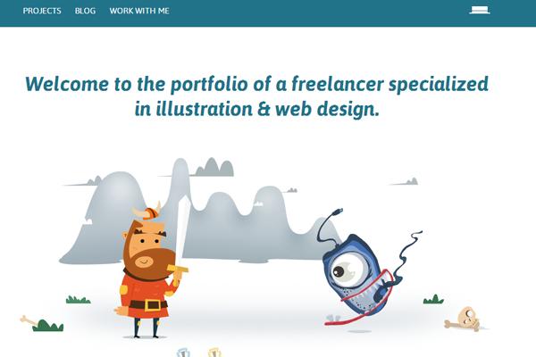 catalin boroi website portfolio design