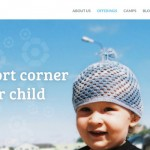 Kids Corner free PSD Template