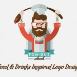 35 Creative Food & Drinks Inspired Logo Designs