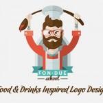 35 Creative Food & Drinks Inspired Logo Designs