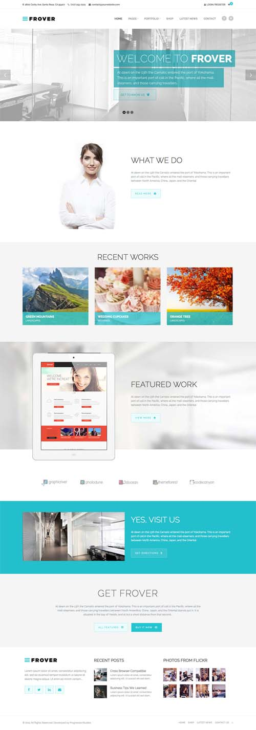 Frover - Muti-Purpose WordPress Theme
