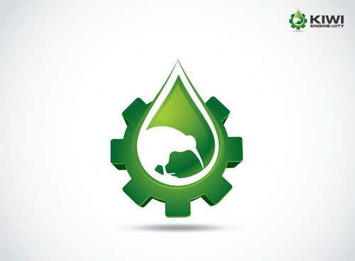 Creative Logo Design for Kiwi Engine-Uity