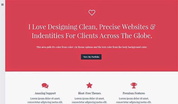 50 + WordPress Themes Premium & Free