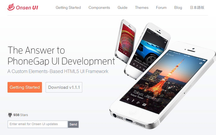 Onsen UI – A Framework for HTML5, PhoneGap & Cordova