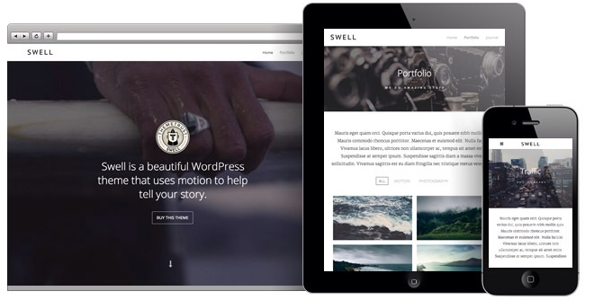 Swell: A Stunning WordPress Theme for Videos