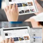 Free Photoshop PSD Mockups for Designers (25 MockUps)